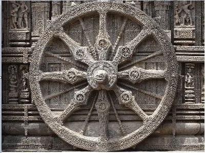 *** храм Солнца — Сурья Рави Арка — в городе Конарак в штате Одиша Индия ***