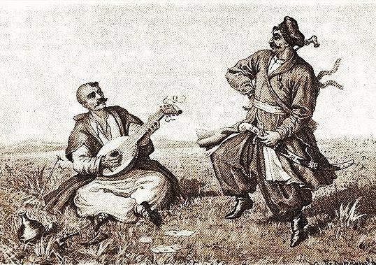 *** Смысл и суть образа Козака Мамая, что он показывает Мужчинам и Женщинам - играет и танцует - 19 ***