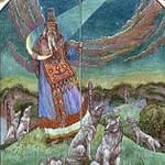 Лунный Бог Хорс.