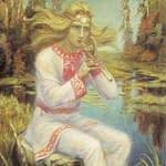Кришень – слов'янський Бог, що згадується у Велесовій Книзі.