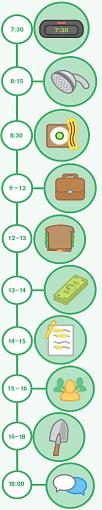 *** Как построить свой распорядок дня ежедневную «рутину» day-schedule ***