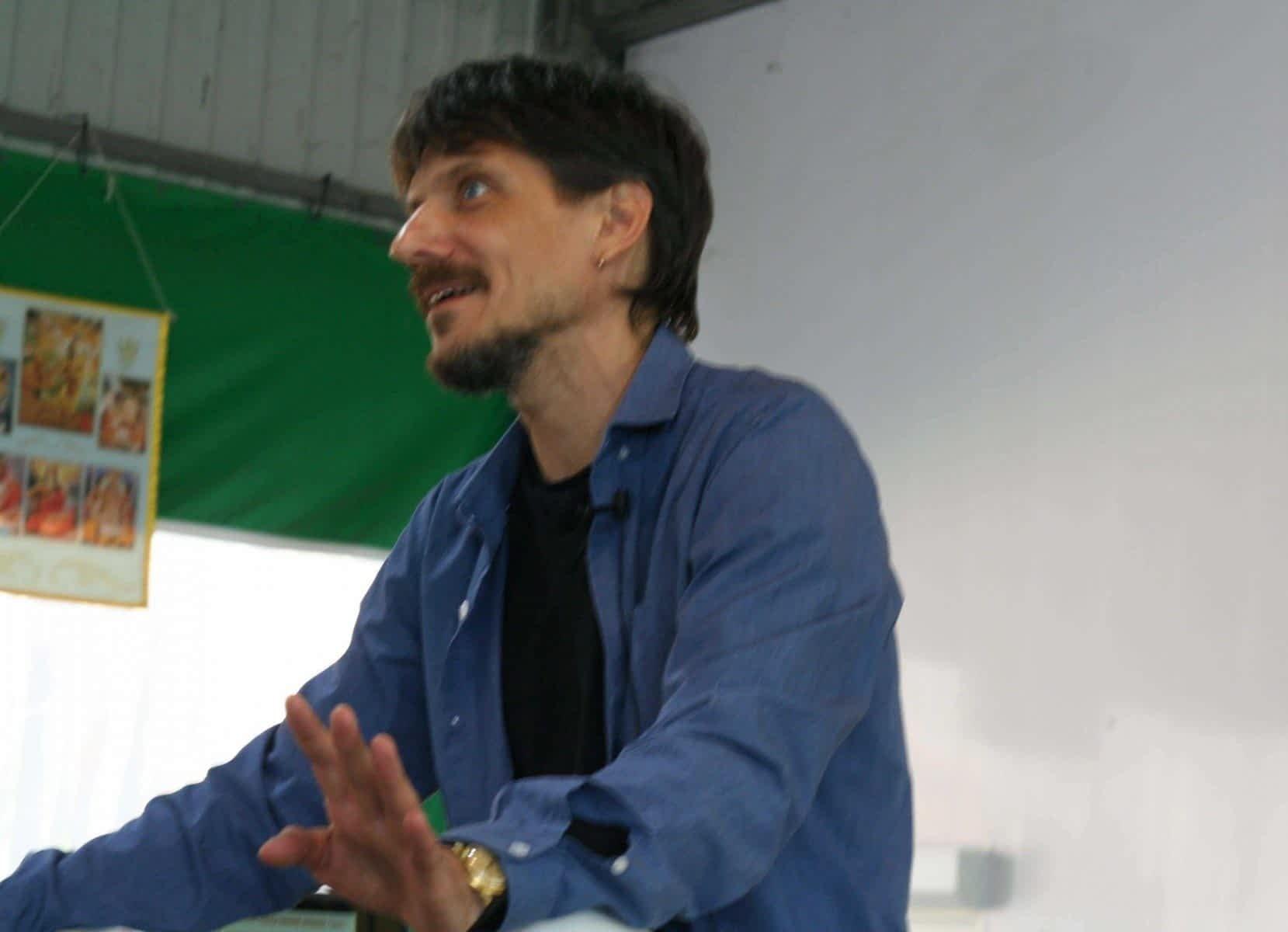 *** Антон Михайлович Кузнецов — семинар і выступления — фестиваль «ДжйотіФест 2019» — фото ***