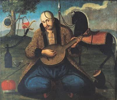 *** Смысл и суть образа Козака Мамая, что он показывает Мужчинам и Женщинам - чёрный конь и ружье - 10 ***