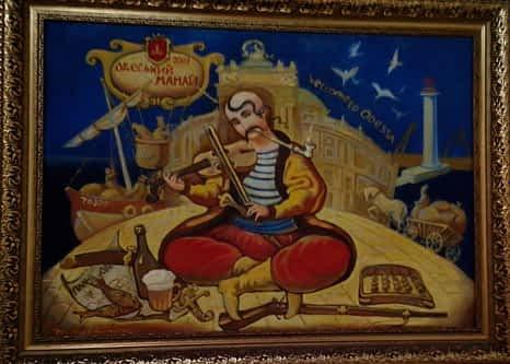 *** Смысл и суть образа Козака Мамая, что он показывает Мужчинам и Женщинам - одесский казак ***