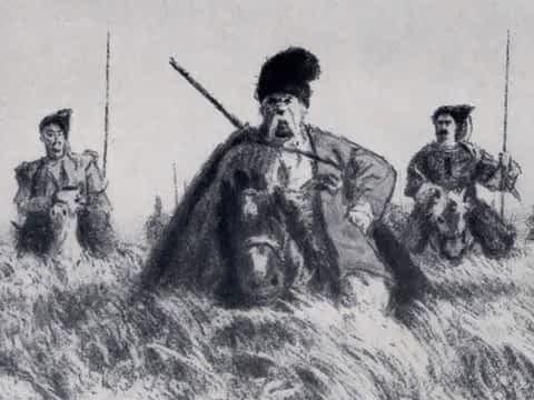 *** Николай Гоголь Тарас Бульба 1835 ***