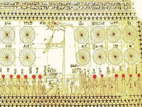 *** Деление года и класификация 12 Раши — Знаков зодиака — Месяцев Egyptian calendar ***