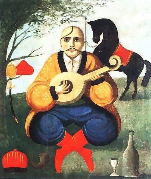 *** Смысл и суть образа Козака Мамая, что он показывает Мужчинам и Женщинам - чёрный конь - 09 ***