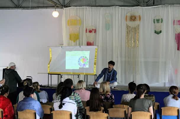 *** Антон Михайлович Кузнецов «Ведаврат» — семинар и выступления на фестивале «ДжйотіФест 2019» май Орлівщина Дніпро — фото ***