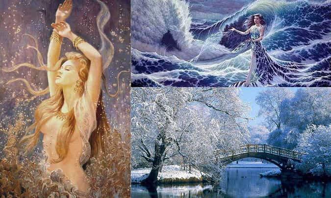 *** Крещение — Водохрес Водоосвящение Водоосветление — древний праздник почитания Воды ***