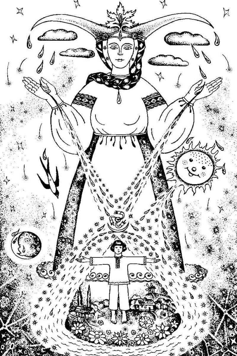 *** Dana Дана Диана Дайна Дойна - Богиня Мать-Вода Стихия Чандра Сома Природа ***