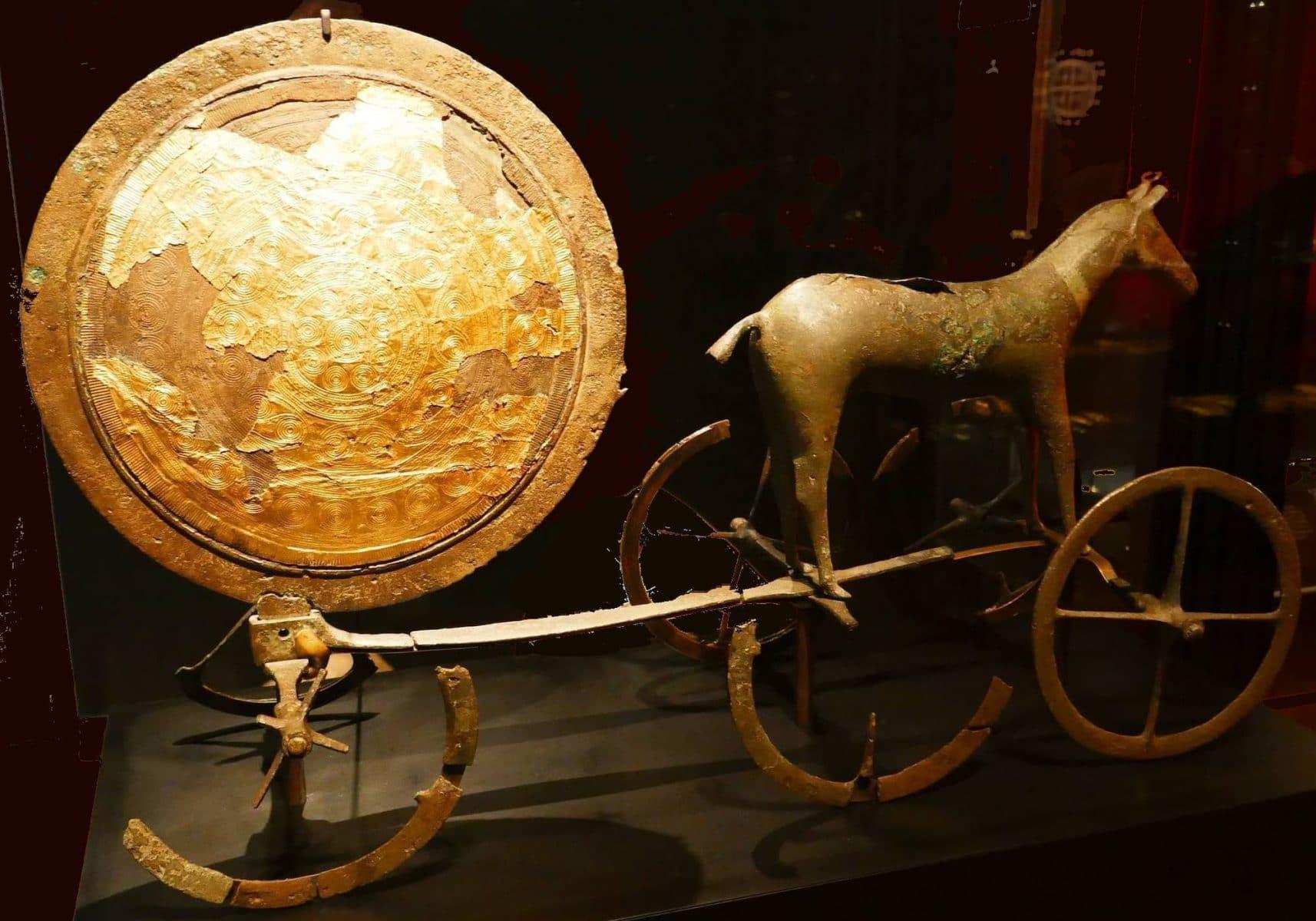 *** Путь Солнца в кельтской древнескандинавской культуре — вечное путешествие Солнца — Небесный и Подземный Мир   круг ***
