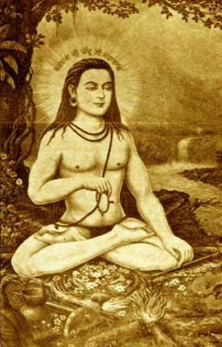 *** Ади Шанкара величайший философ риши) учёный пандит Учитель возродил Ведические знания Адвайта-Веданта ***