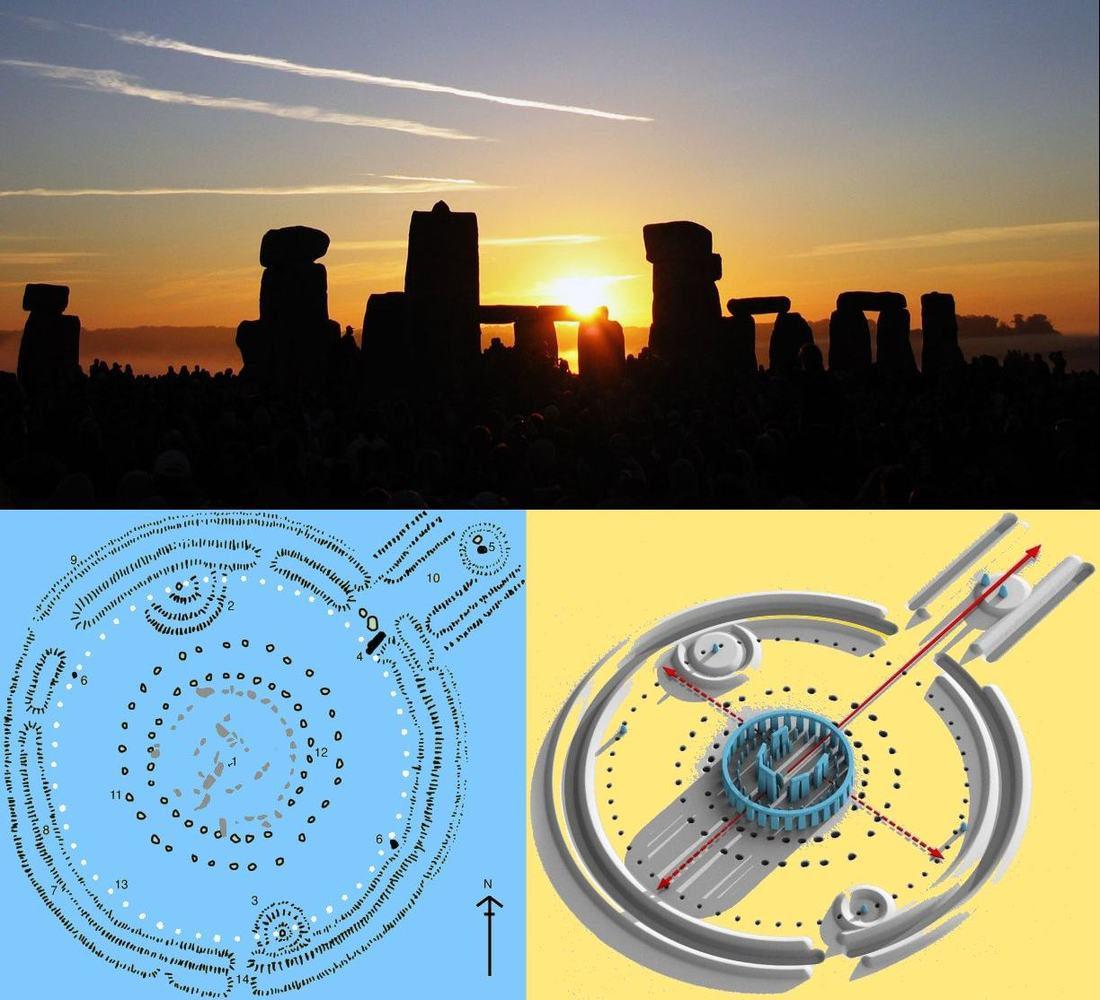 *** Стоунхендж Англия — солнечная обсерватория знаний о солнцестояниях и равноденствиях и храм почитания Солнца ***